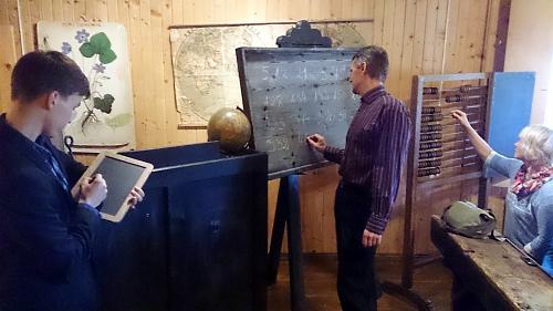 Õpetajad muuseumitunnis