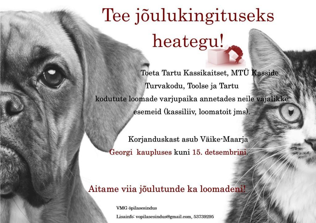 Kodutute loomade kampaania_2015